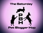 Mud and Dog Slobber/Saturday Pet Blogger Hop