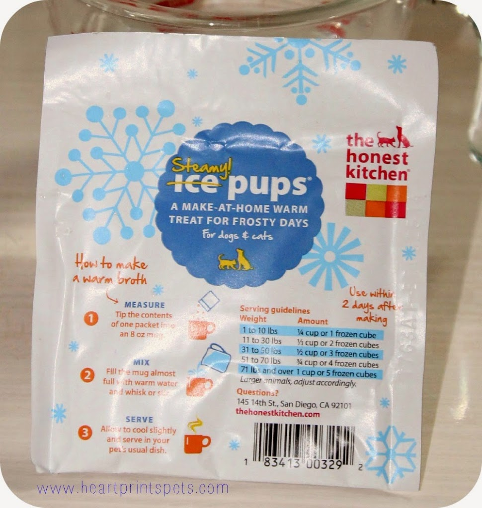 The Honest Kitchen Steamy Pups Review and Giveaway!