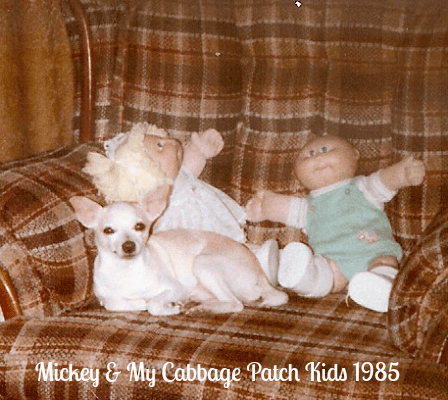Mickey and Cabbage Patch Kids