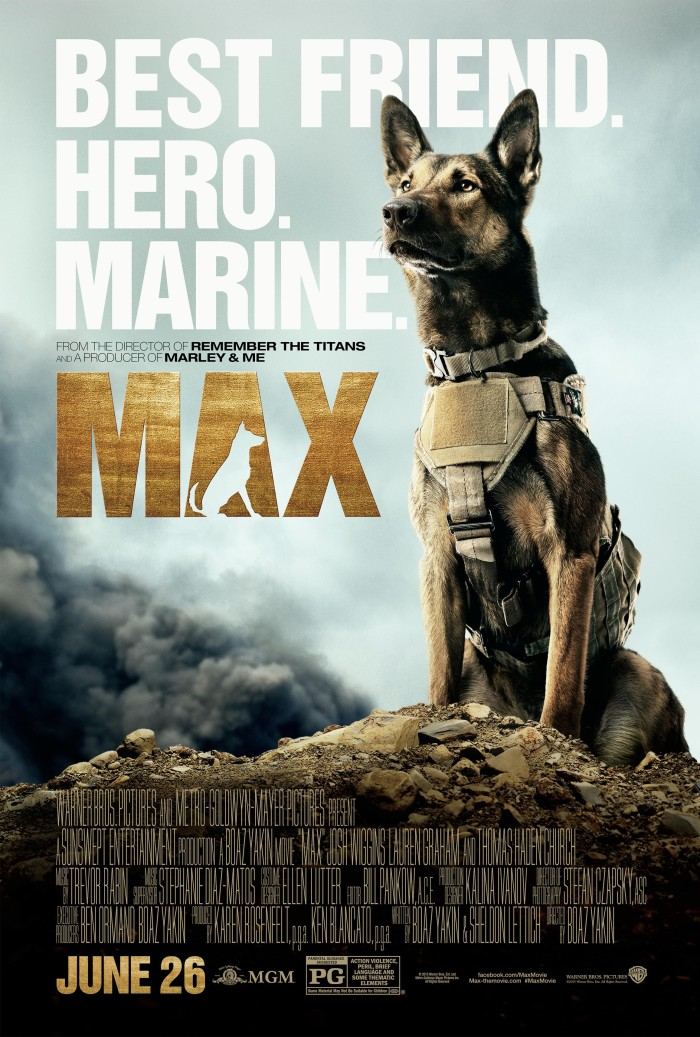 Best Friend. Hero. Marine. Max