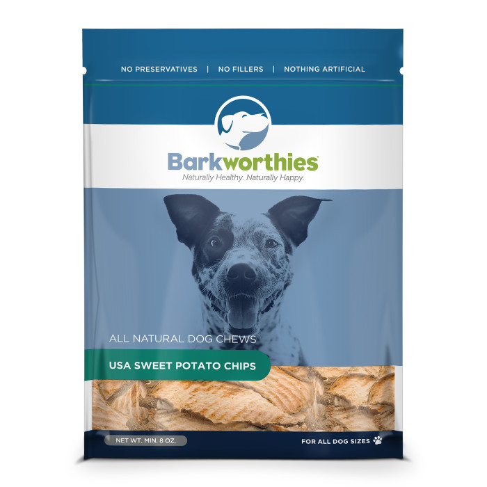4 gifts for pets Eat Barkworthies Sweet Potato Chews All-Natural Sweet Potato Chips are packed with the vitamins and nutrients