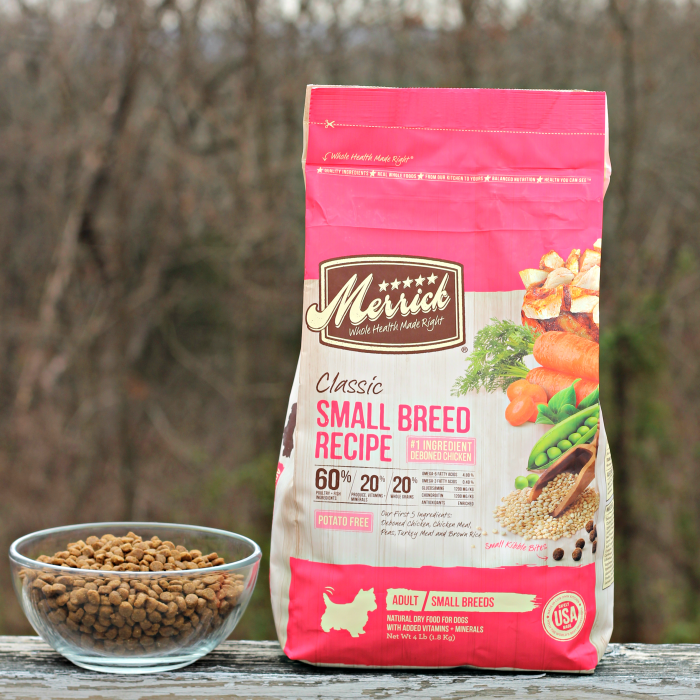 Merrick Classic Refresh Small Breed Recipe Dog FFood