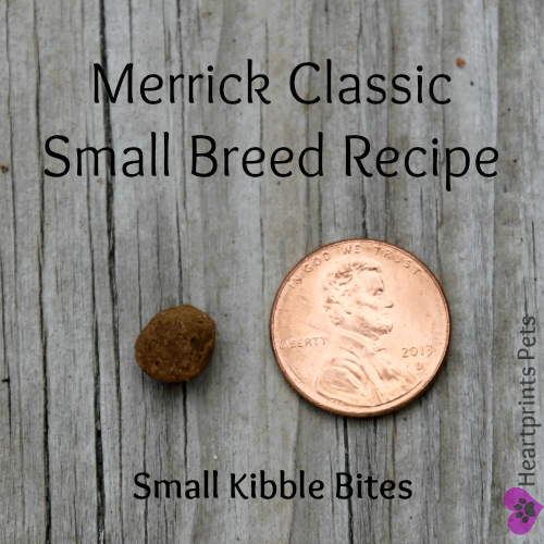 Merrick Classic Refresh Small Breed Recipe Small Kibble Bites