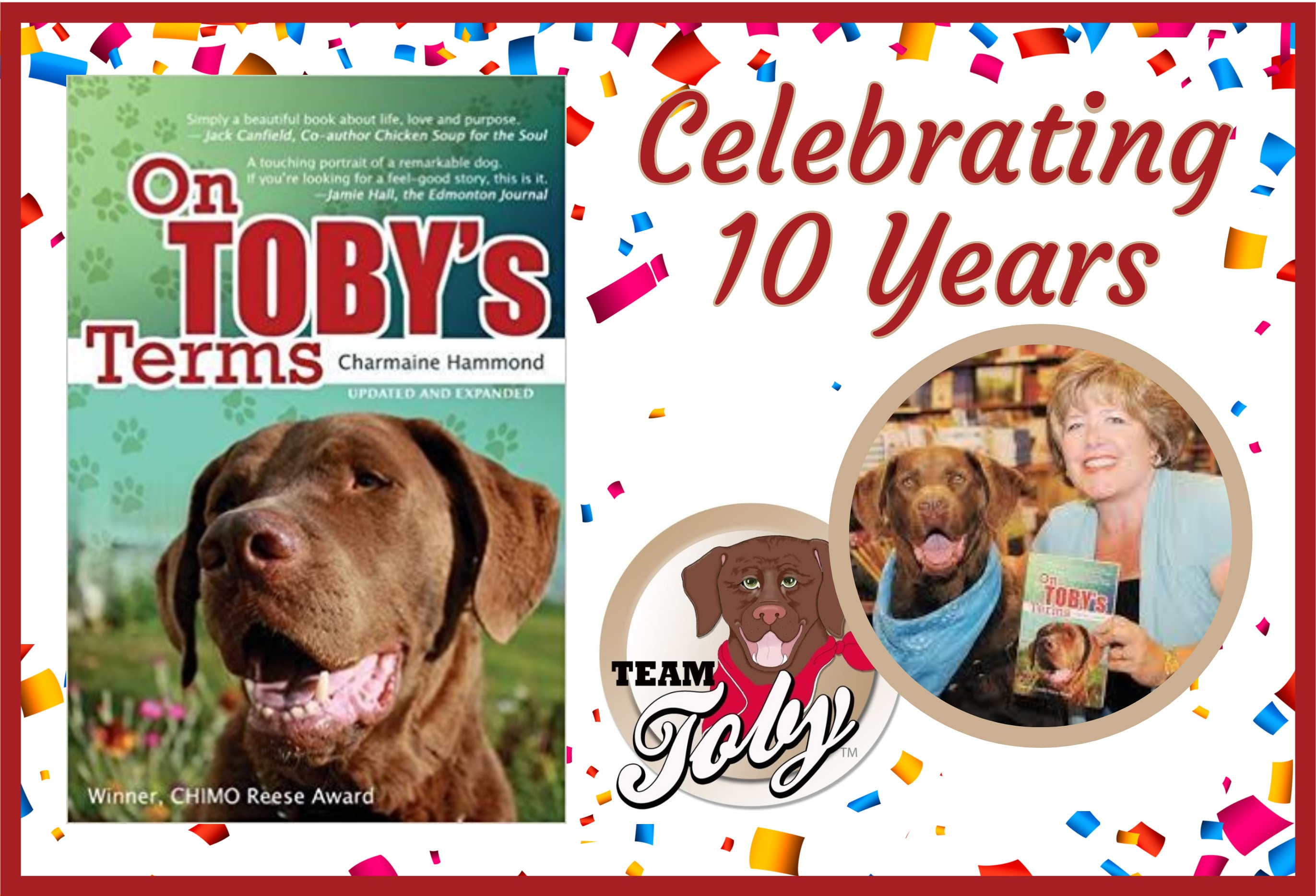 Celebrating Ten Years of On Toby's Terms!